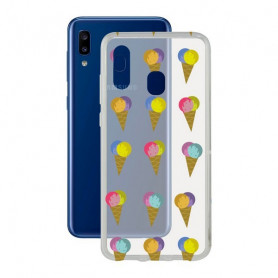 Mobile cover Samsung Galaxy A20 KSIX Flex TPU Transparent KSIX - 1