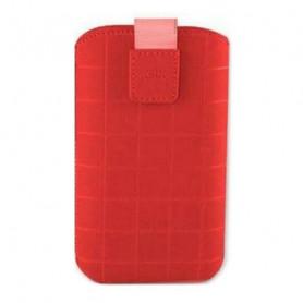 Custodia Universale per Cellulare Roma Xl KSIX Rosso (12,4 x 7,8 x 1,3 cm) KSIX - 1