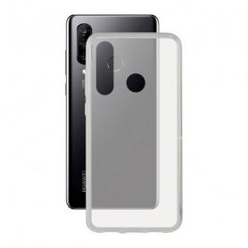 Mobile cover Huawei P30 Lite KSIX Flex TPU Transparent KSIX - 1