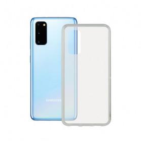 Custodia per Cellulare con Bordo TPU Samsung Galaxy S20+ Contact Flex Trasparente Contact - 1