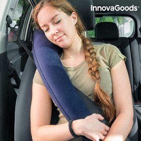InnovaGoods Adjustable Travel Pillow with Seat Attachment InnovaGoods - 1