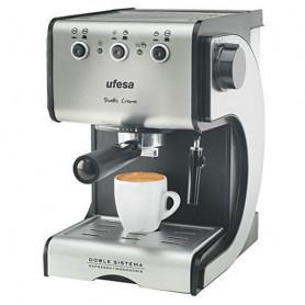 Cafetera Express de Brazo UFESA CE7141 1,5 L 15 bar 1050W Negro Plateado Inox UFESA - 1
